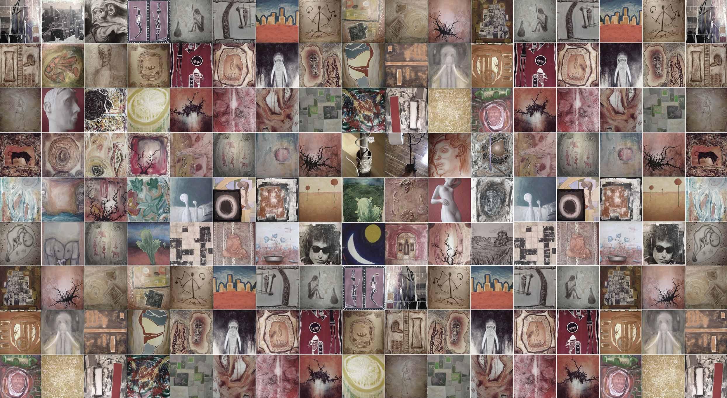 Kunst Galerie von Rocco Kruse, Gemälde auf Leinen
